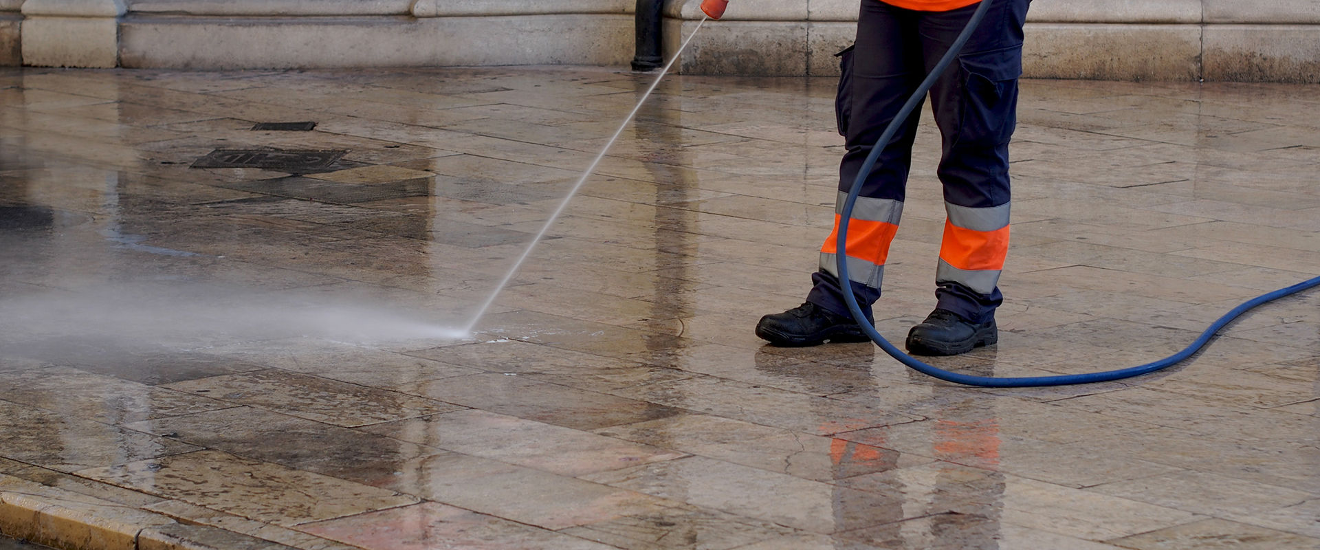 Commercial Pressure Washing Glasgow, Scotland