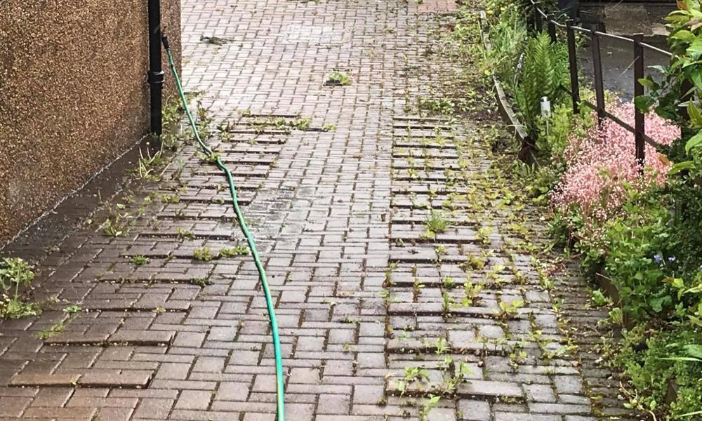driveway cleaning company coatbridge